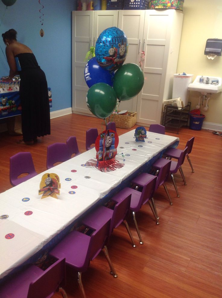 11 best Thomas the Train Birthday Party Decor at Gymboree Play