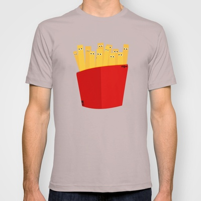 FRENCH FRIES T-shirt by cfortyone - $18.00