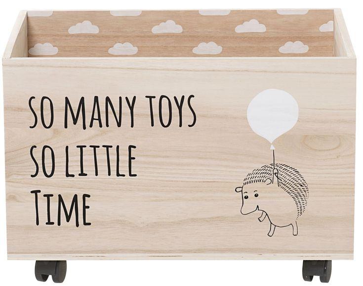 legetøjskasse, diy -ide