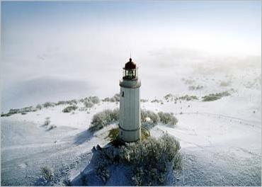 Light house, Hiddensee Island, Germany