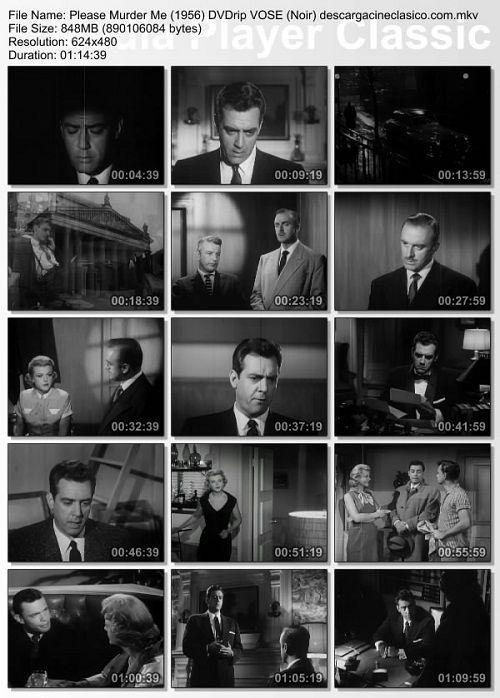Asesíname por favor cine noir