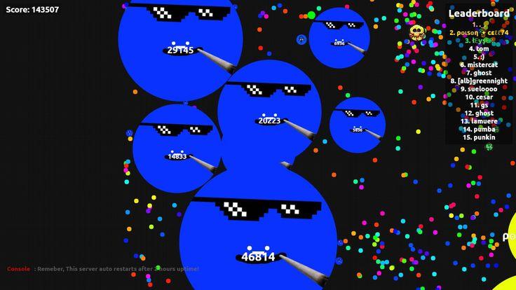 ._. nick name agario game score play agarabi.com together! - Player: ._. / Score: 143507