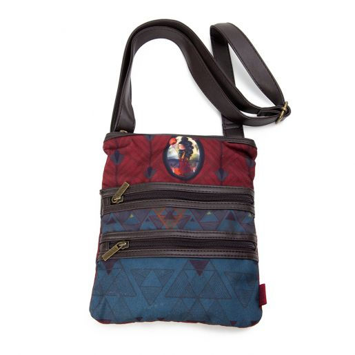 Sac la Sportive Alisma KETTO Busy Bag Alisma // Sacoche en polyester. Fermeture éclair. Deux pochettes extérieures. Ganse adjustable. // Small polyester purse. Zipper. Two outside pockets. Adjustable strap. // #PetiteSacoche #BusyBag #Ketto