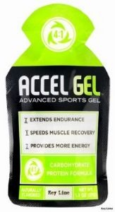 ACCEL GEL is the only sports gel that contains the patented 4:1 carbohydrate to protein ratio which significantly increases endurance reduces exercise-related muscle damage and accelerates exercise muscle recovery.