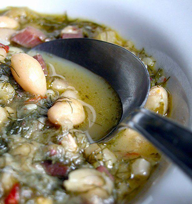Zuppa di cannellini al finocchietto | http://www.ilpastonudo.it/minestre-e-zuppe/zuppa-di-cannellini-al-finocchietto/