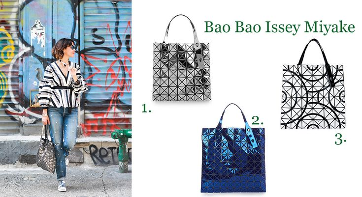 The October Bag Crush with the beautiful bags of Bao Bao Issey Miyake!!  More on: http://bagatyou.com/october-bag-crush/