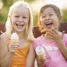 sharing some icecream with your best friend :)