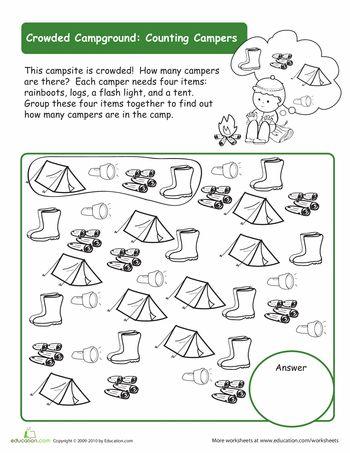 37 best Preschool Theme: Camping images on Pinterest | Preschool ...