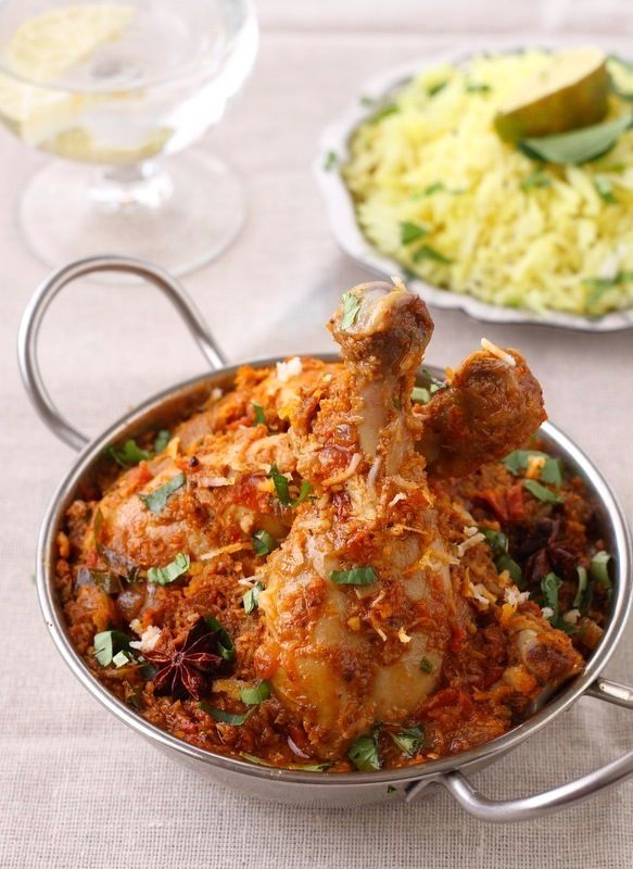 Chettinad Chicken - a south Indian recipe that I must try!