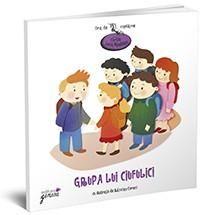 Grupa lui ciufulici-Lucia Muntean; Varsta:2-4 ani; Este cartea din care afli totul despre lumea grădiniței. În paginile ei voi, cei mari, veți găsi poezii care vă vor ajuta să îi pregătiți pe cei mici pentru momentele importante ale mersului la grădiniță, iar lor le vor dezvălui lumea grădiniței, cu toate personajele și activitățile ei, ca pe o poveste din care se vor bucura să facă parte în fiecare dimineață, oricât de somnoroasă ar fi ea.