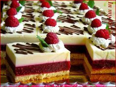In my kitchen: Szampan i maliny - ciasto