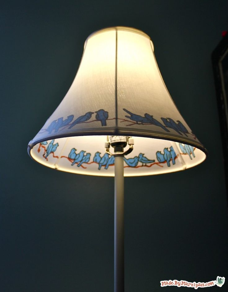 Transform a plain, inexpensive lampshade into a one-of-a-kind accent piece. Turn on the light and the effect is magical!