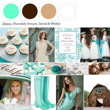 wedding color palette of my dreams