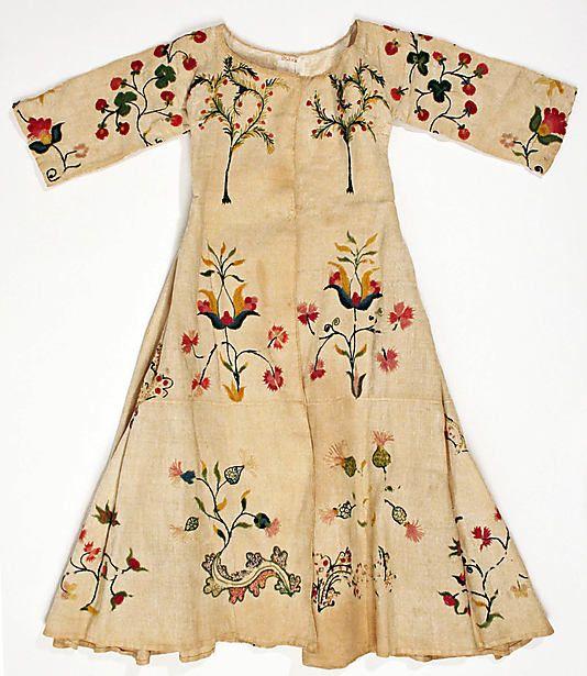 mid-18th century dress