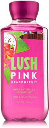 Lush Pink Dragonfruit Shower Gel - Signature Collection - Bath & Body Works