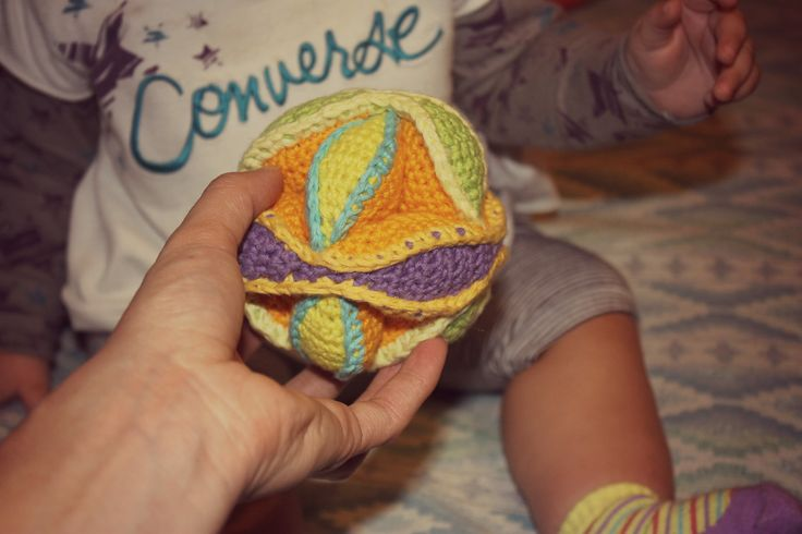 Crochet Amish Puzzle Ball.