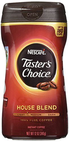 Nescafe Taster's Choice Instant Coffee, 12 Ounce *** Want additional info? Click on the image.