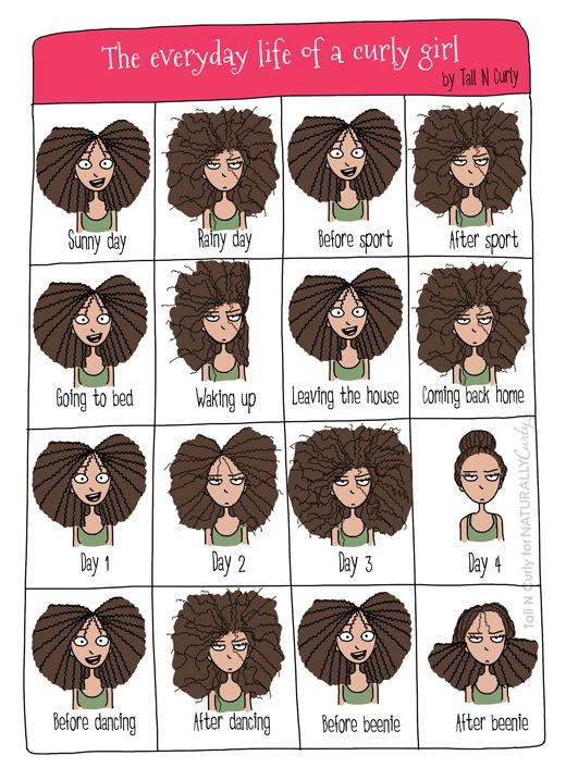 The everyday life of a curly girl  by Tall N Curly