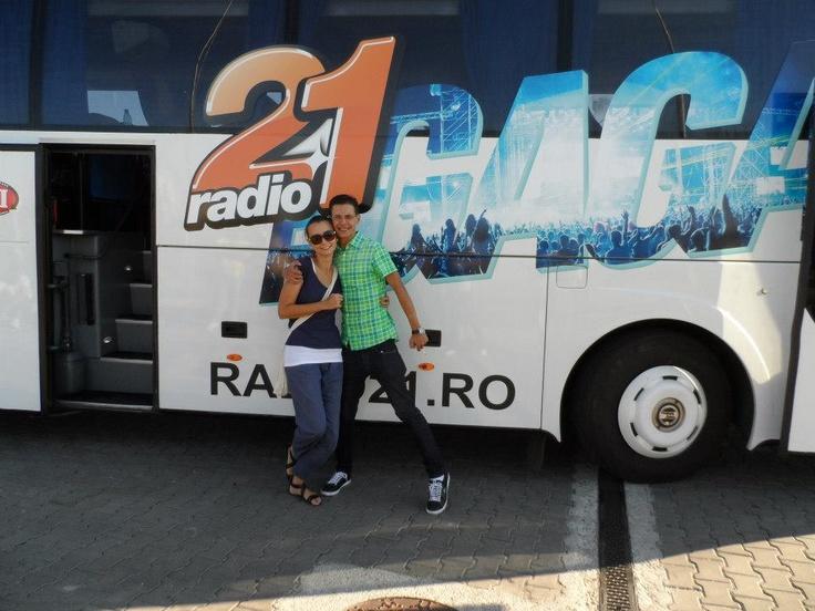 AUGUST - Trag o fuga pana in Bulgarie, cu @Cristi Dorombach si @radio21 la concertul Lady Gaga