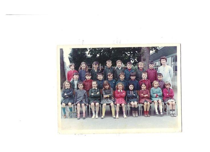 Photo de classe COURS PREPARATOIRE de 1968, ECOLE DU CHATEAU - Copains d'avant