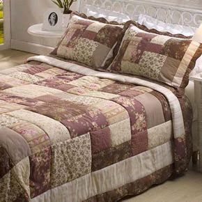 House of May Flower: Patchwork Quilt - Patchwork