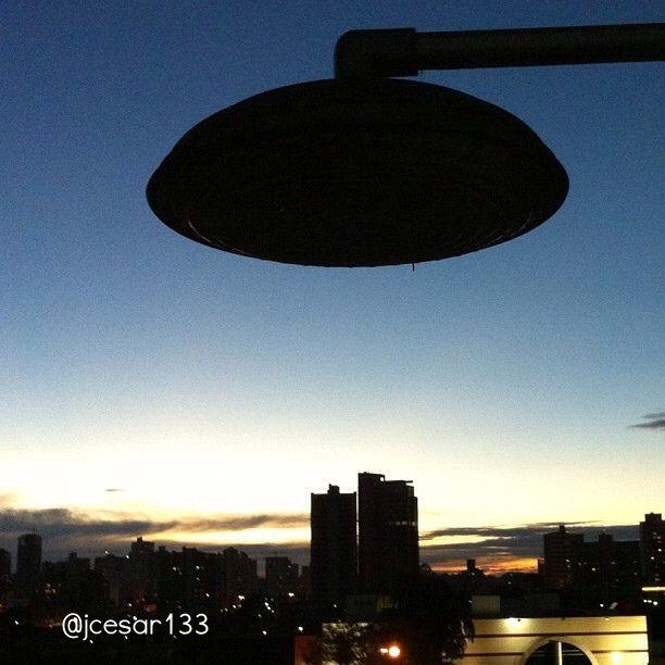 Por do sol em Londrina