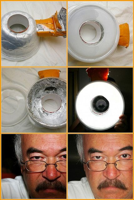 diy ring flash. Cuz ring flashes cost a lot of $