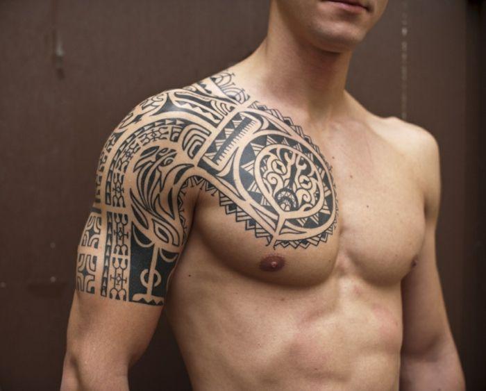 1001 Ideas De Tatuajes Maories Y Su Significado En La Cultura Polinesia Tatuajes De La Manga Tribal Media Manga Tatuaje Tatuaje Maori Hombro