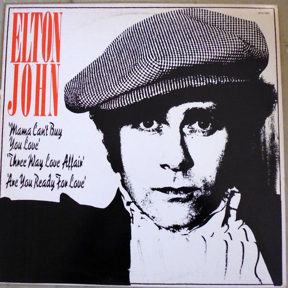 Elton John, The Thom Bell Sessions, vinyl record, extended play, Mama Can't Buy You Love, rock music, The Spinners, Philadelphia soul
