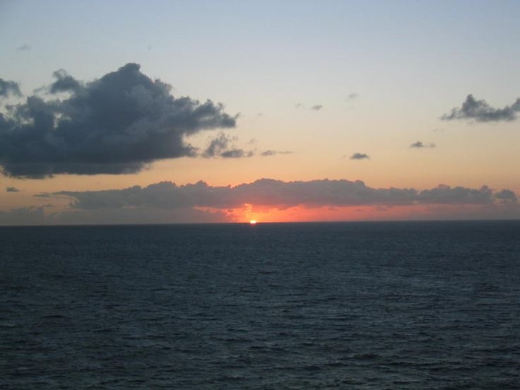 First Sunrise in the U.S, Eastern most point - Point Udall, St. Croix USVI
