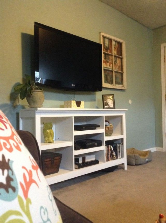 Threshold Bookcase From Target New Tv Stand Wall Halcyon Green Sw Paint Color Lightened With White To Shade Desired