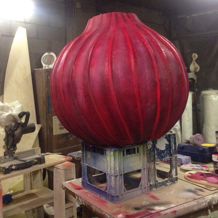 The onion dress - work in progress for #VeniceCarnival -  by Nu'Art www.nuart.it