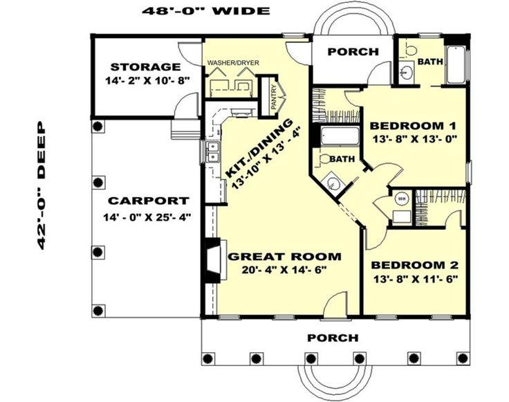 Plan #44-159 - Houseplans.com