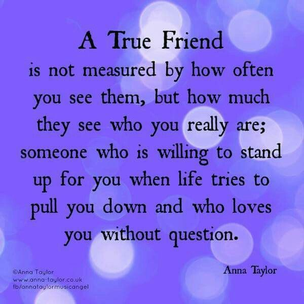 3 types of friends would be; acquantinces, true friends and ?