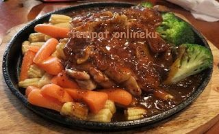 Resep Steak Daging Saus Lada Hitam
