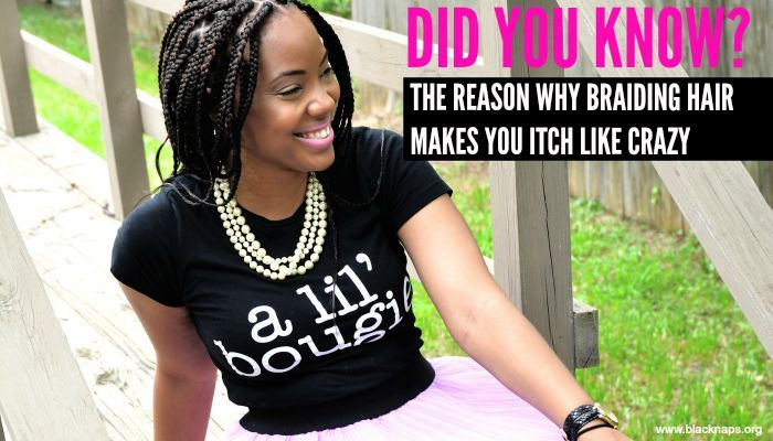 The Reason Braid Extensions Make You Itch | Curly Nikki | Natural Hair Care
