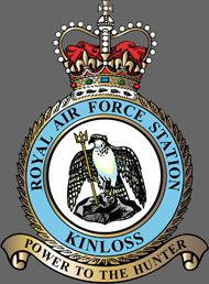 RAF Kinloss station crest.