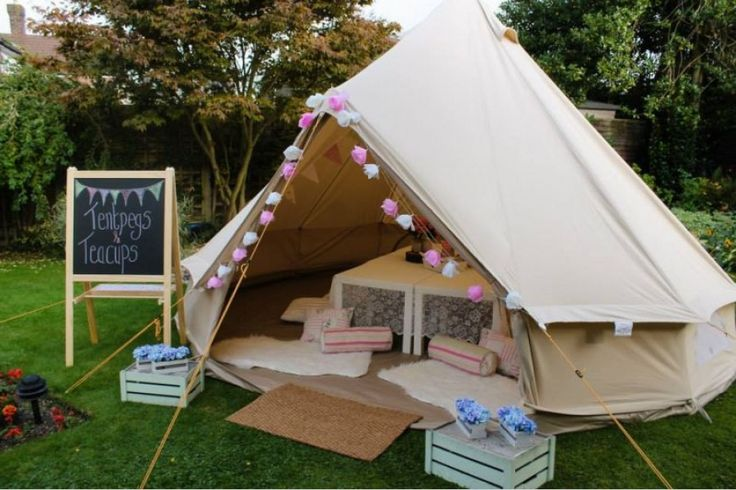 Teepee hire. Ideal for kids parties, baby showers, sleepovers. Day rates and overnight rates. Optional extras including dressing up box, face... (1)