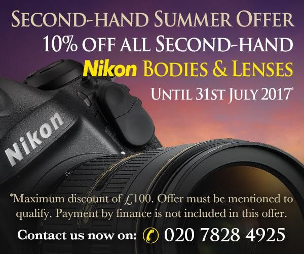 10% off Second Hand & Nikon's Newest Lens | Grays of Westminster