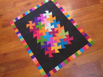 Canton Village Quilt Works: Lil' Twister Tutorial
