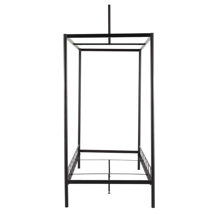Structure-lit enfant 90 x 190 cm en métal