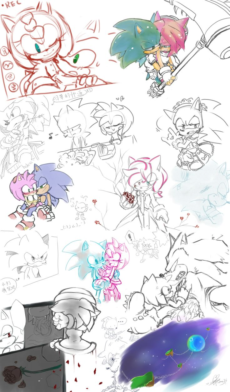 how to draw sonic milton knight