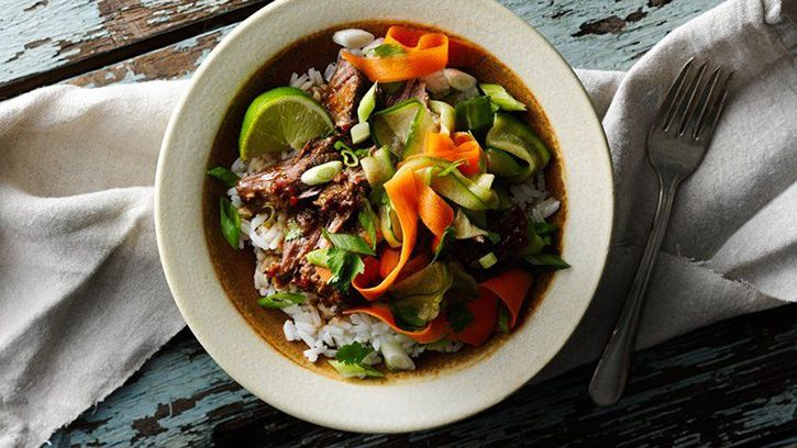 These super-simple make-ahead dinners come together easily by combining ingredients in a gallon-sized bag and freezing for later. Then all you have to do is thaw, throw in the slow cooker and simmer until dinnertime. Here are four new recipes from our test kitchen to get you started!