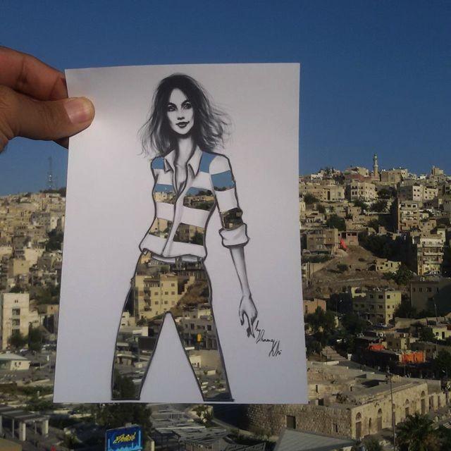 Shamekh Bluwi Fashion Illustrations Cut-Out dresses ...