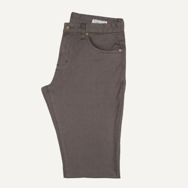 Lincoln Twill Pants in Truffle | Frank & Oak