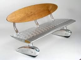 Image result for helicopter rotor blade furniture