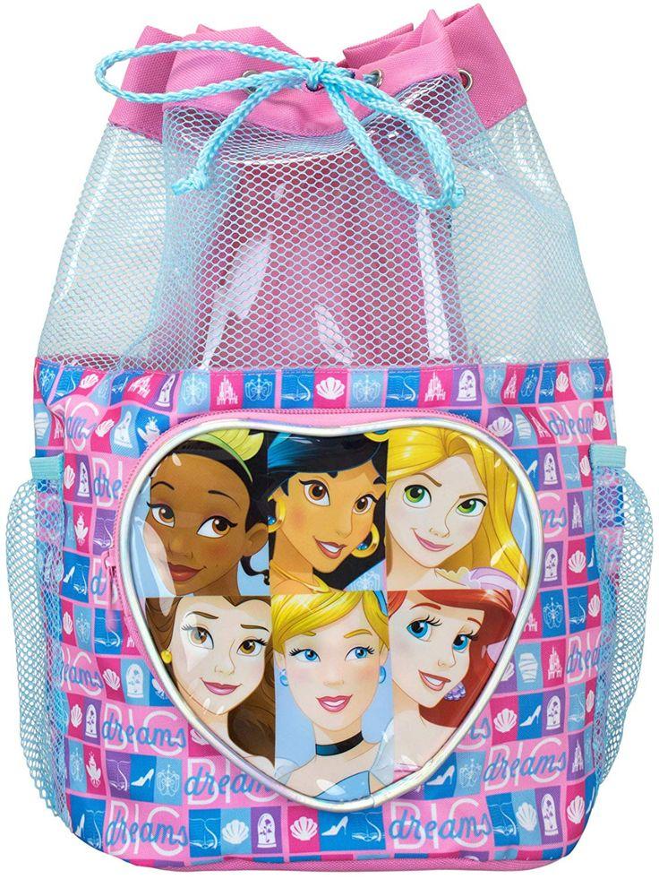 Disney kids princess swim bag kids