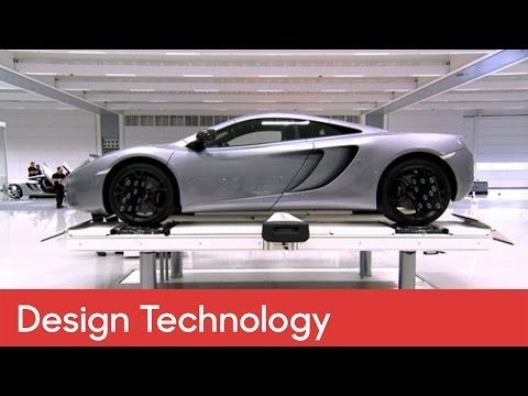 How to design a McLaren supercar | Design and Technology - How to Build - YouTube