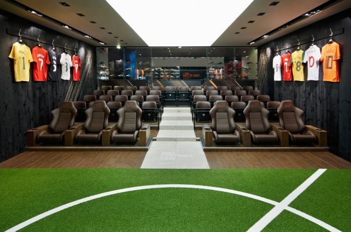 Warsaw Buick Gmc >> officeTwelve – Nike Town Players Lounge | Retail | Pinterest | Branding design and Visual ...