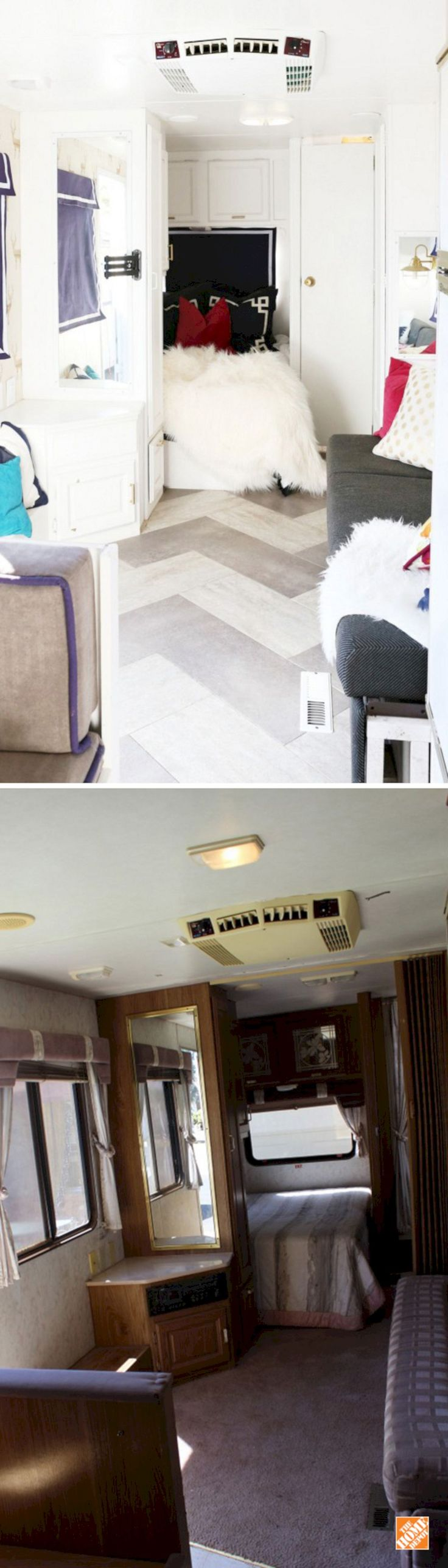 Great Idea Easy RV Remodels On A Budget: 45+ Before And After Pictures http://goodsgn.com/rv-camper/easy-rv-remodels-on-a-budget-45-before-and-after-pictures/